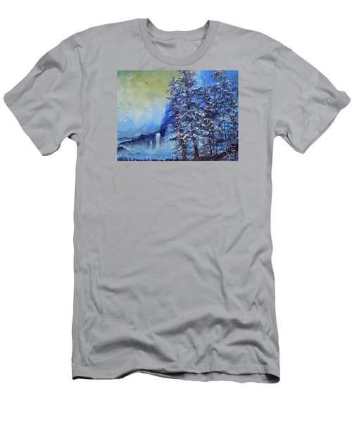 It's Cold Out Men's T-Shirt (Slim Fit) by Dan Whittemore