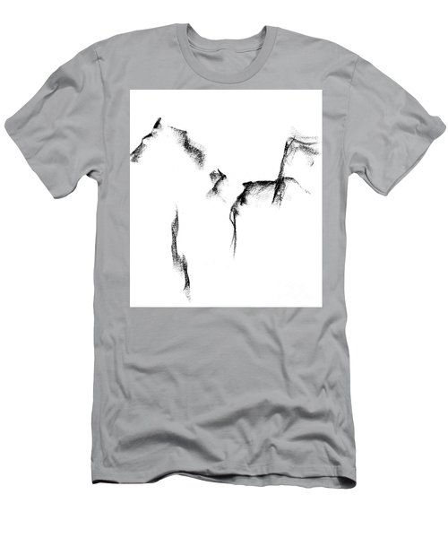 Its Just A Little Sketch Men's T-Shirt (Slim Fit) by Frances Marino