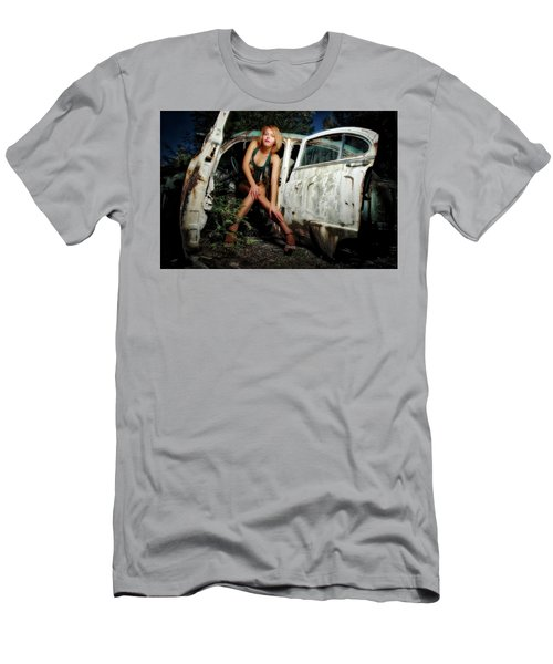 Izzy's Buick Men's T-Shirt (Slim Fit) by Jerry Golab