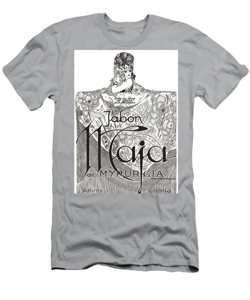 Men's T-Shirt (Athletic Fit) featuring the digital art Jabon by ReInVintaged