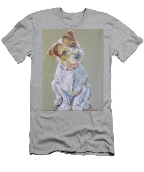 Jack Russell Watching You Men's T-Shirt (Athletic Fit)