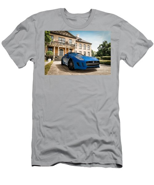 Jaguar F-type - Blue - Villa Men's T-Shirt (Athletic Fit)
