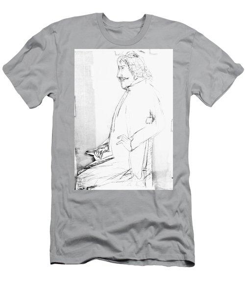 James Whistler's Portrait Men's T-Shirt (Athletic Fit)