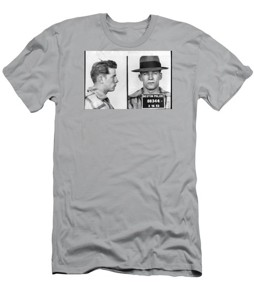 James Whitey Bulger Mug Shot 1953 Horizontal Men's T-Shirt (Athletic Fit)