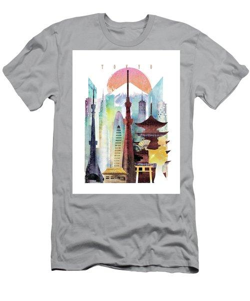 Japan Tokyo Men's T-Shirt (Athletic Fit)