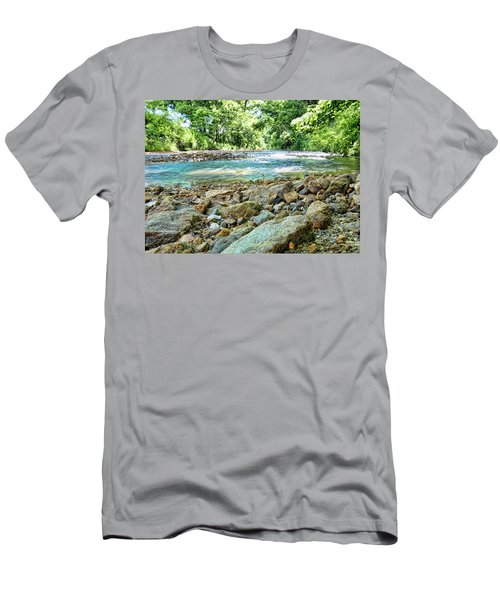 Men's T-Shirt (Slim Fit) featuring the photograph Jemerson Creek by Cricket Hackmann