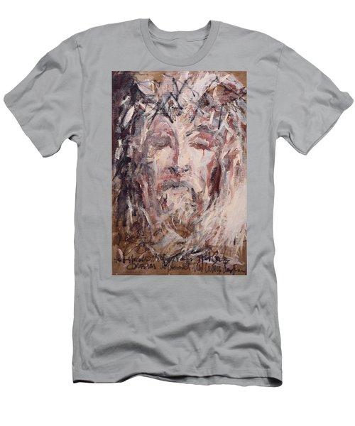 Jesus Christ Men's T-Shirt (Slim Fit) by Pierre Van Dijk