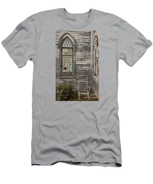 Jesus Has Left The Building Men's T-Shirt (Athletic Fit)