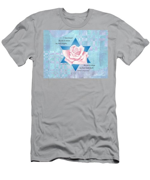 Jewish Wedding Blessing Men's T-Shirt (Athletic Fit)
