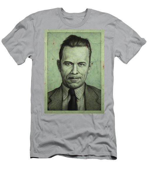 John Dillinger Men's T-Shirt (Athletic Fit)