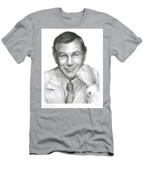Johnny Carson Men's T-Shirt (Slim Fit) by Greg Joens