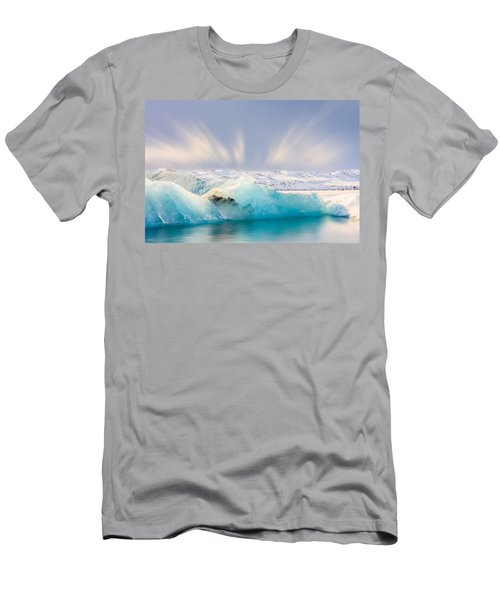 Jokulsarlon Glacier Lagoon Men's T-Shirt (Athletic Fit)
