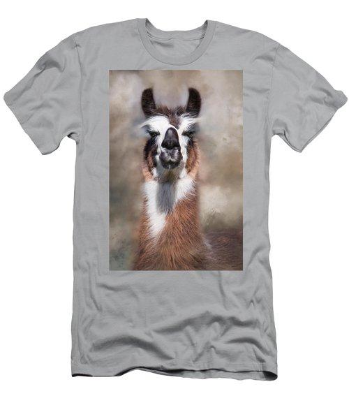 Jolly Llama Men's T-Shirt (Athletic Fit)