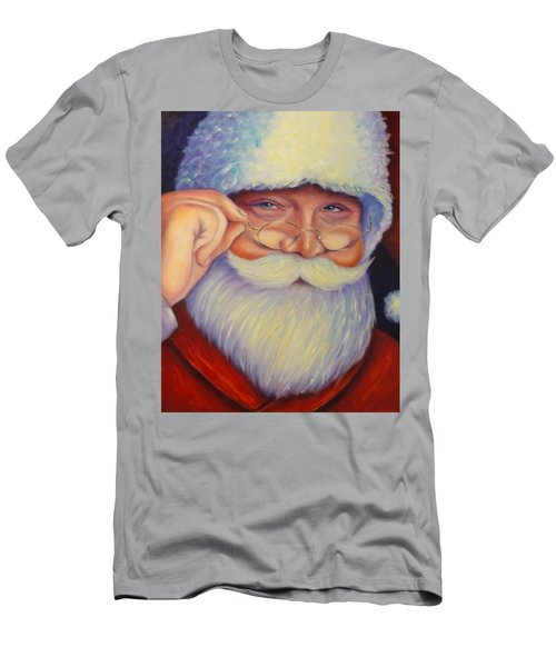 Jolly Old Saint Nick Men's T-Shirt (Athletic Fit)