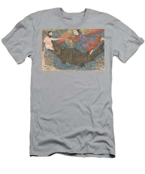Jonah And The Whale Men's T-Shirt (Slim Fit) by Iranian School