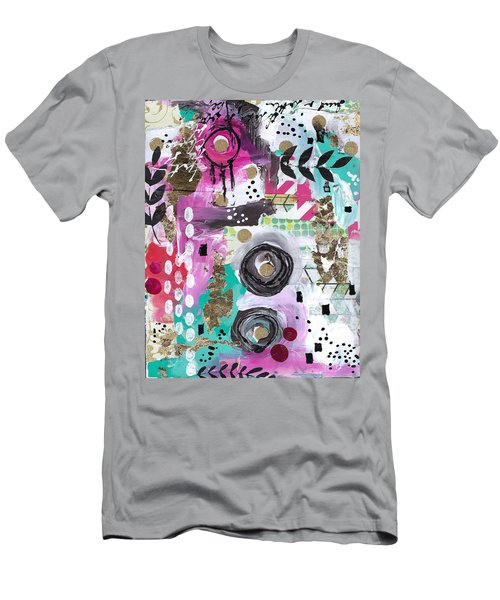 Joy And Happiness  Men's T-Shirt (Athletic Fit)