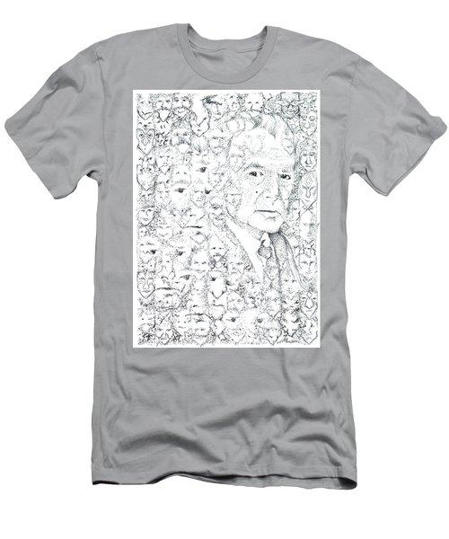 Juan Rulfo Sombra De Arreguin Men's T-Shirt (Athletic Fit)