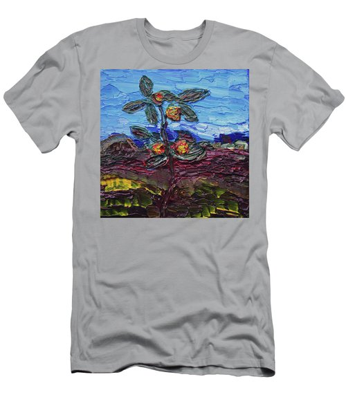 June Flower Men's T-Shirt (Athletic Fit)