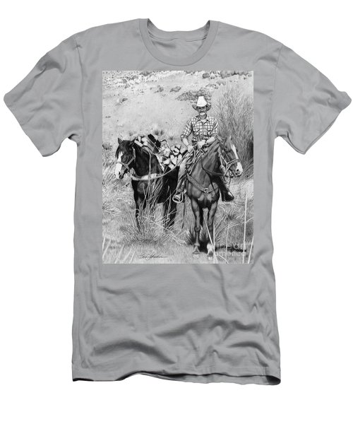 Just Another Western Workday Men's T-Shirt (Athletic Fit)