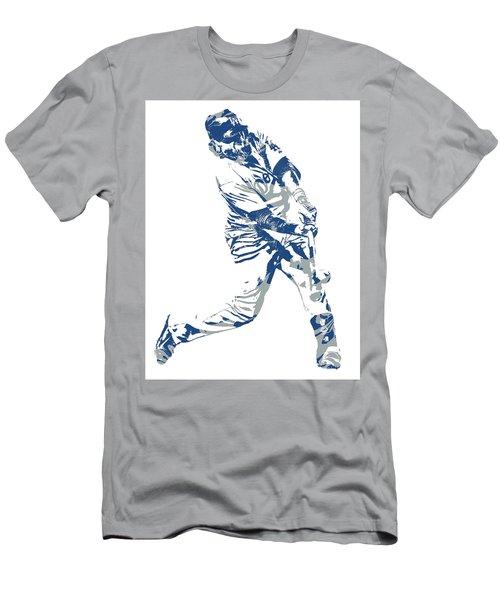 Justin Turner Los Angeles Dodgers Pixel Art 10 Men's T-Shirt (Athletic Fit)