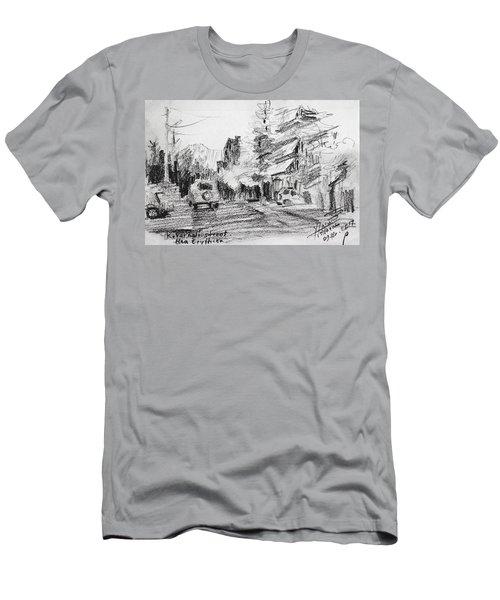 K Varnali Street Nea Erythraia  Men's T-Shirt (Athletic Fit)