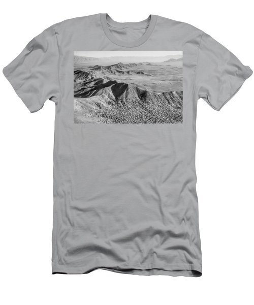 Kabul Mountainous Urban Sprawl Men's T-Shirt (Athletic Fit)
