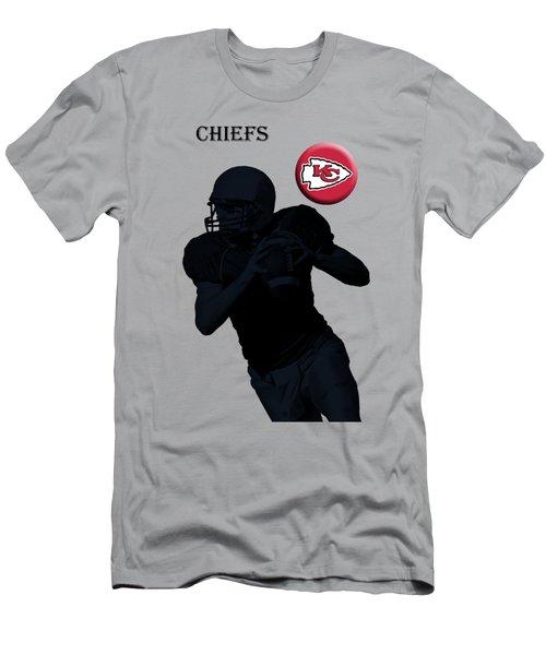 Kansas City Chiefs Football Men's T-Shirt (Athletic Fit)