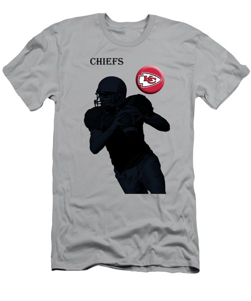 Kansas City Chiefs Football Men's T-Shirt (Athletic Fit)