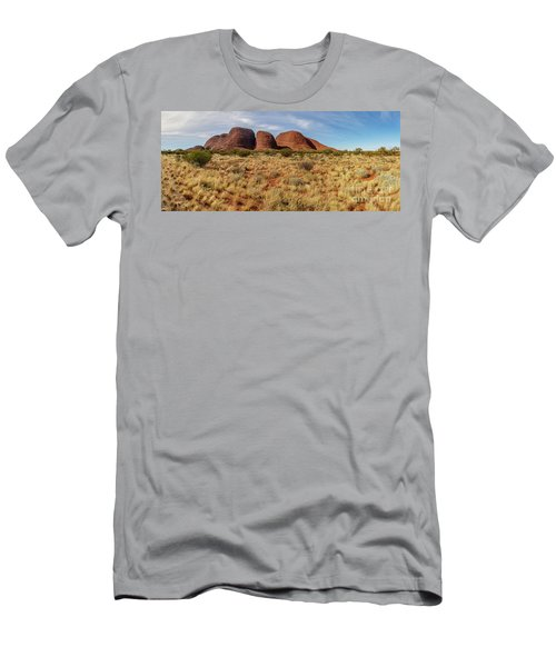 Men's T-Shirt (Athletic Fit) featuring the photograph Kata Tjuta 10 by Werner Padarin