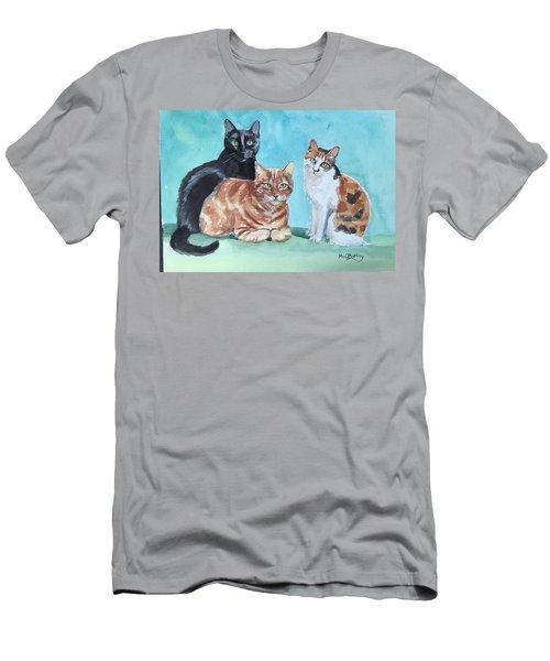Kates's Cats Men's T-Shirt (Athletic Fit)