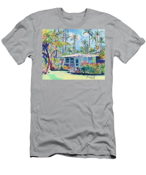 Kauai Blue Cottage 2 Men's T-Shirt (Athletic Fit)