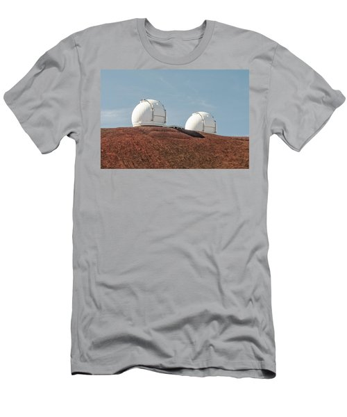 Keck 1 And Keck 2 Men's T-Shirt (Slim Fit) by Jim Thompson