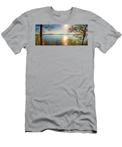 Men's T-Shirt (Athletic Fit) featuring the photograph Kentucky Lake by Ricky L Jones