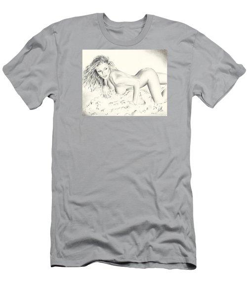 Kerri Kendall Men's T-Shirt (Slim Fit) by Vincent Wolff