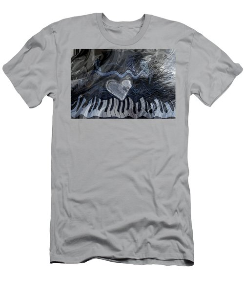 Key Waves Men's T-Shirt (Slim Fit) by Linda Sannuti