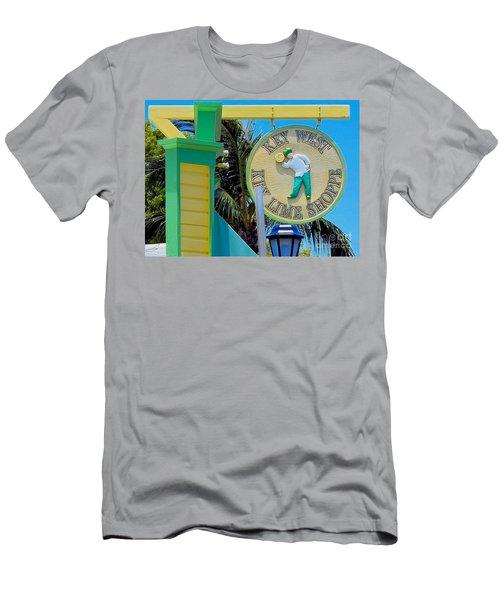 Key West Key Lime Shoppe Men's T-Shirt (Athletic Fit)