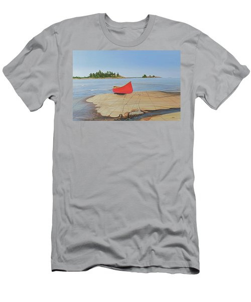 Killarney Canoe Men's T-Shirt (Athletic Fit)