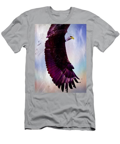 Men's T-Shirt (Athletic Fit) featuring the painting King Of The Skies by Mark Taylor