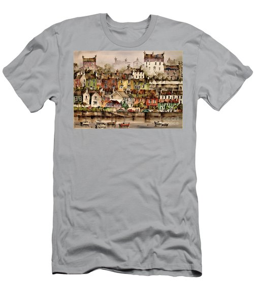 F 906  Kinsale Harbour. Cork Men's T-Shirt (Athletic Fit)