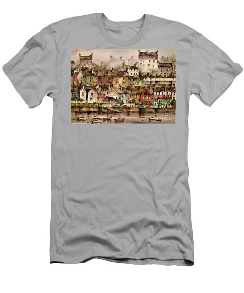 F 906  Kinsale Harbour. Cork Men's T-Shirt (Athletic Fit)