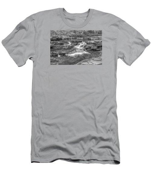 Kitchen Creek Bw - 8902-3 Men's T-Shirt (Slim Fit) by G L Sarti