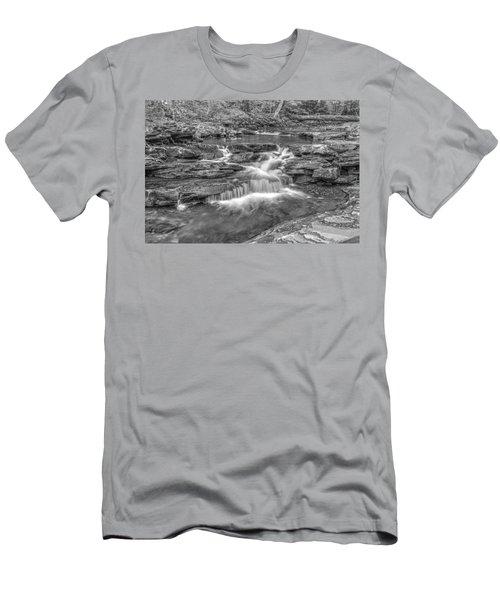 Kitchen Creek Bw - 8902-3 Men's T-Shirt (Athletic Fit)