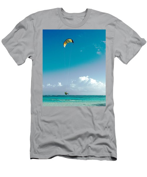 Kitebording Men's T-Shirt (Athletic Fit)