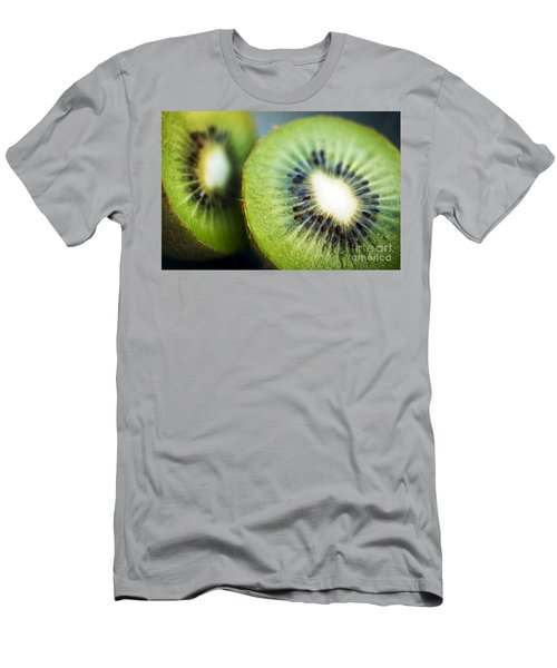 Kiwi Fruit Halves Men's T-Shirt (Athletic Fit)