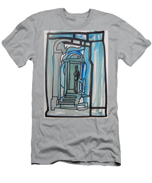 Knocking On Heaven's Door Men's T-Shirt (Athletic Fit)