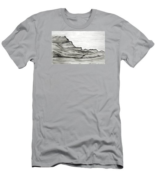 Knockmore In Mist Men's T-Shirt (Athletic Fit)