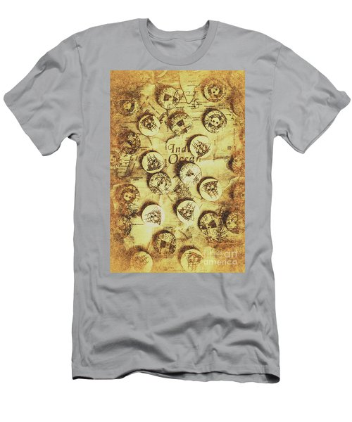 Knots And Buttons Men's T-Shirt (Athletic Fit)