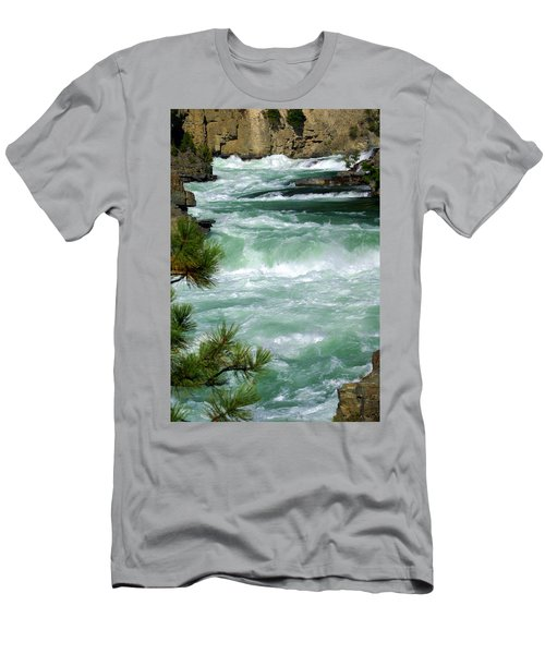 Kootenai River Men's T-Shirt (Athletic Fit)