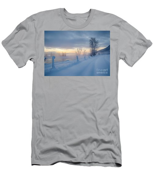 Kootenai River Road Men's T-Shirt (Athletic Fit)
