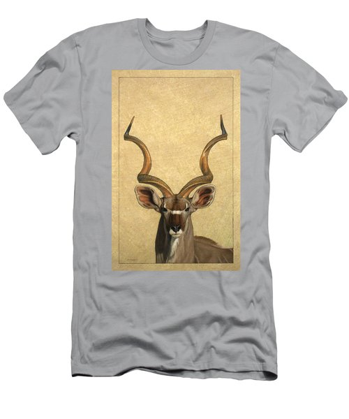 Kudu Men's T-Shirt (Slim Fit) by James W Johnson